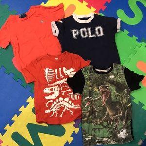 Bundle of 4 shirts - 4T